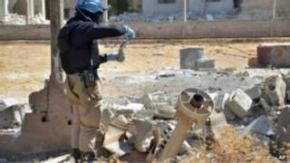 ဆီးရီးယား ပြည်တွင်းစစ်မြေပြင်