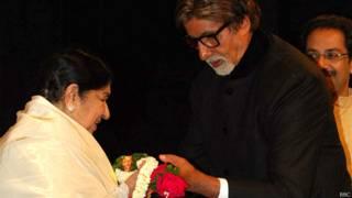 लता मंगेशकर, अमिताभ बच्चन