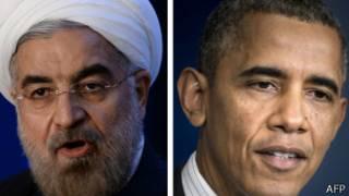 Rais Rouhani na Obama