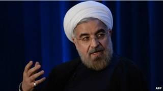 Presidente Rouhani   Foto: AFP