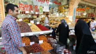 السوق الإيراني