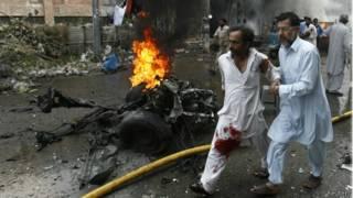Взрыв в Пешаваре