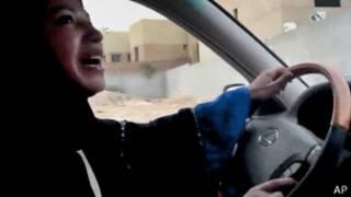 Саудовская женщина за рулем