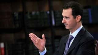 Bashar al Asad, presidente de Siria