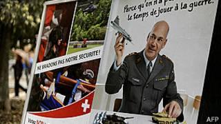 Propaganda para abolir el ejército