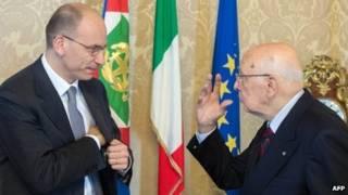 Thủ tướng và tổng thống Ý