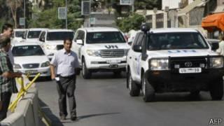 Inspectores de la ONU en Siria