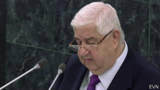 Министр иностранных дел Сирии Валид Муаллем