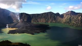 Hồ Segara Anak ngày nay