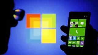 Wayar Nokia da tambarin Microsoft