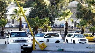 Chuyên gia LHQ có mặt tại Syria