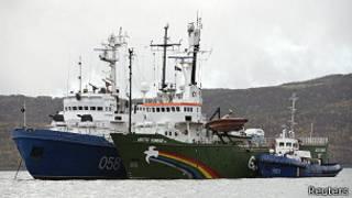 Arctic Sunrise gemisi