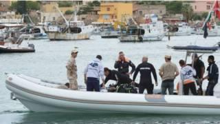 Lampedusa rescue