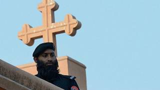 பாகிஸ்தானில் கிறிஸ்துவர்கள் சிறுபான்மையாக உள்ளனர்
