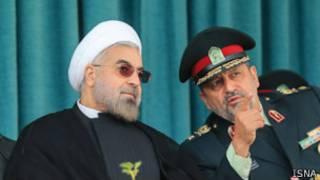 روحانی و احمدی مقدم رئیس پلیس