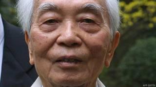 Tướng Giáp hồi năm 2002