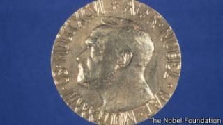 Медаль Нобелевской премии мира