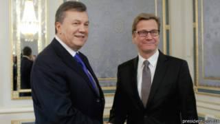 Янукович і Вестервелле