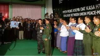 KIO and MPC Meeting in Myitkyina