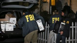 Рейд агентов ФБР в Нью-Йорке