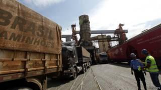 Commodities no Porto de Santos (Reuters)
