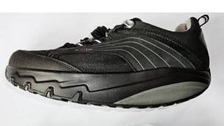 حذاء بنعل مقوس
