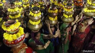 Индуистский фестиваль в Гуджарате