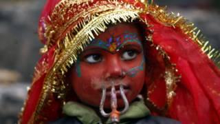 فتاة هندوسية