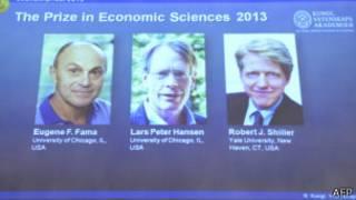 Nobel Ekonomi Ödülü sahipleri Nobel Ekonomi Ödülü Fama, Hansen ve Shiller