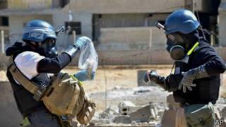 مفتشو الأسلحة الكيماوية في سوريا