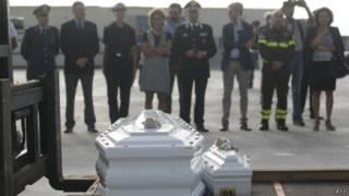 Похороны на Лампедузе