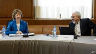 Catherine Ashton ve Cevad Zarif