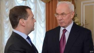 Николай Азаров прибыл в Москву на заседание Высшего Евразийского экономического совета