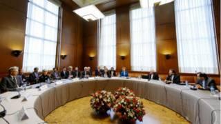 المحادثات مع إيران في جنيف