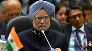 भारत के प्रधानमंत्री मनमोहन सिंह