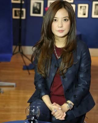赵薇接受BBC英伦网专访(摄影:张程)