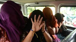 trafficking human