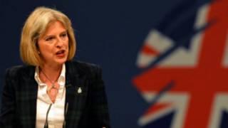 英國內政大臣特里莎·梅