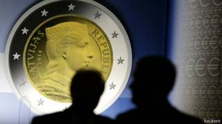 Latvia, euro