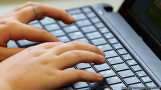 Teclado de una laptop