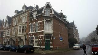 Дом в управлении посольства РФ в Гааге