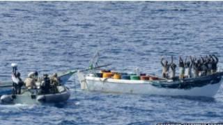 Interpellation de pirates somaliens