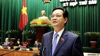 Thủ tướng Nguyễn Tấn Dũng tại kỳ họp Quốc hội