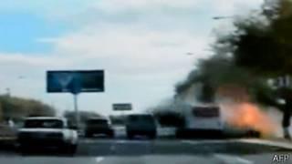 Взрыв прогремел на остановке - семь человек погибли