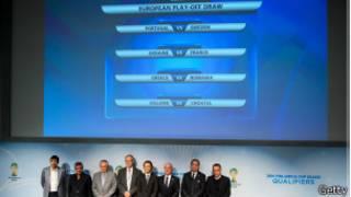 قرعة الملحق الاوروبي للتصفيات المؤهلة لنهائيات كأس العالم لكرة القدم 2014