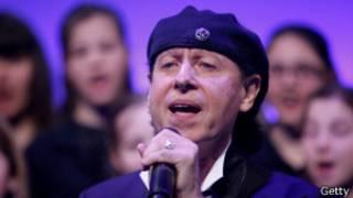 Клаус Майне, солист группы the Scorpions