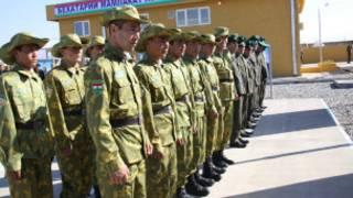 Таджикские военнослужащие