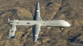 Avión estadounidense no tripulado