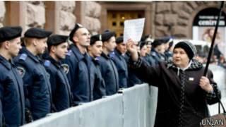 Протест под Киевсоветом