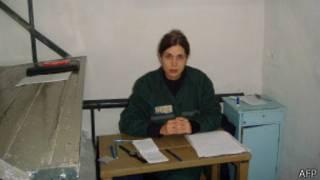 Надежда Толоконникова в тюремной камере
